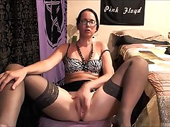 role-playing milf stripping and playing with dildo more at hottestmilfcams.com