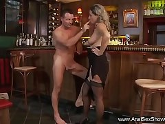 Anal Sex On The Bar