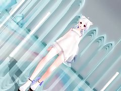 [MMD]PiNK CAT Submitted by Hazy