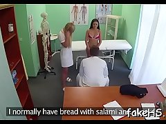 Vivid porn act inside fake hospital