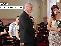 Crazy czech wedding orgy party - XCZECH.com