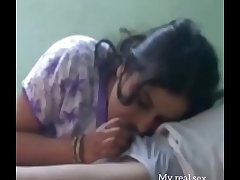 Desi wife sucking cock