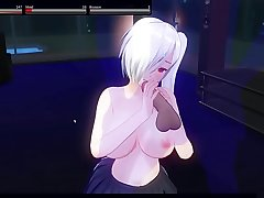 Nakiri Alice love to blow his master 3 - Custom Maid 3D 2