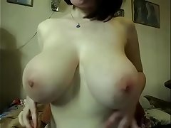 Hot amateur with big natural boobs fingering pussy live cam sex