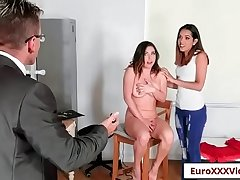 Picture Perfect Pussies with Esperanza Del Horno and Ally Breelsen free video part-01 from Euro Sex Parties