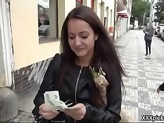 Public Pickups - Amateur Slutty Euro Teen Suck Dick For Cash 05