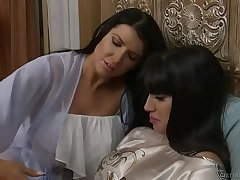 Do you feel lonely, Mercedes? - Mercedes Carrera and Romi Rain