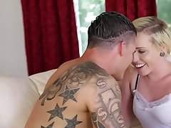Blonde Miley May gets fucked by her boyfriend