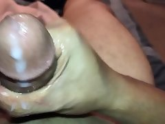 BACKED UP BBC CUMSHOT