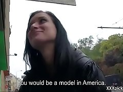 Public Pickups - Teen Amateur Euro Babe Seduces Tourist For Blowjob 33
