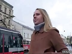 Public Pickups - Teen Amateur Euro Babe Seduces Tourist For Blowjob 35