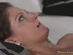 DaneJones Romanian beauty loves creampie from lovers sensual fucking