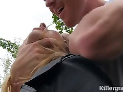 Big booty babe Paige Turnah gets creampied by hung stud