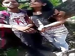 Indian Lovers Public Boobs &amp_ Pussy Fondled