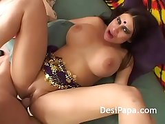 Cute Indian Hottie Group Sex Fucking