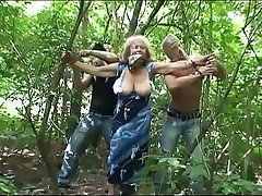 Granny attacked and abused in a park