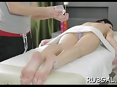 Massage sex clip